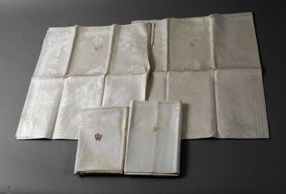 Vintage Gebilddamast-Towels - photo 1