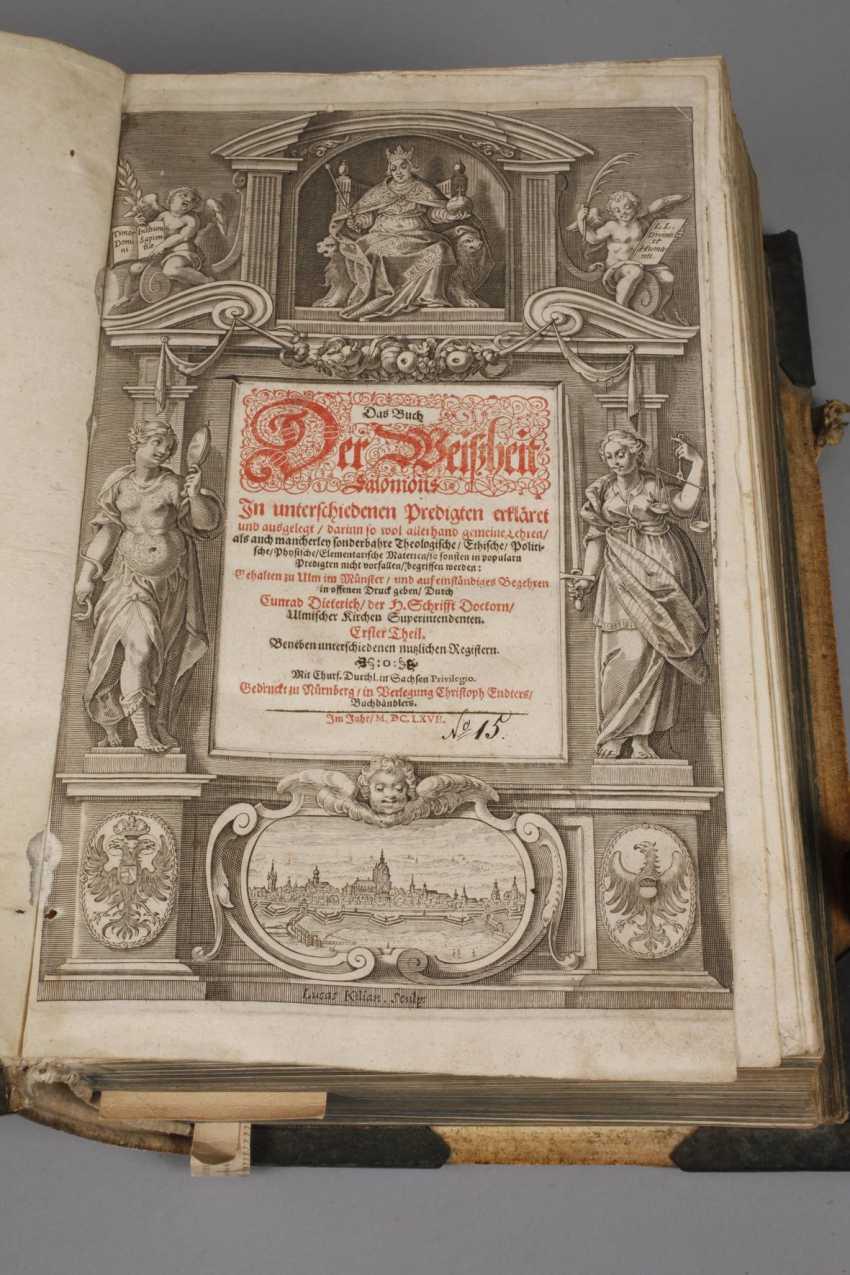 Dietrich's Sermon Book 1667 - photo 2