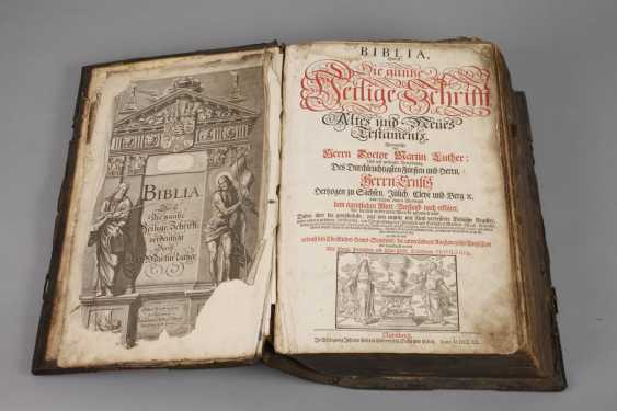 The Weimar Elector Bible 1720 - photo 3