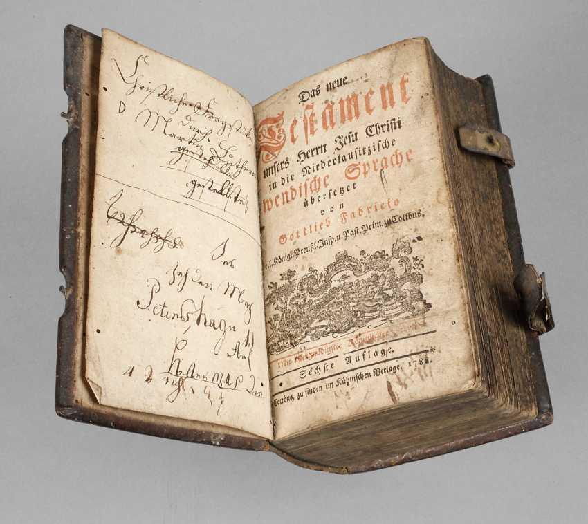 Wendische Библии 1788 - фото 1
