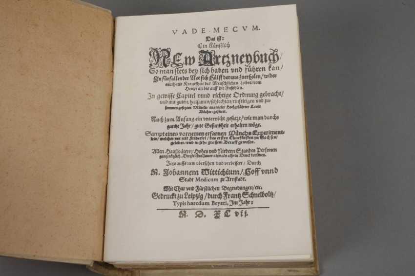 Wittichs Pharmacopoeia 1597 - photo 2