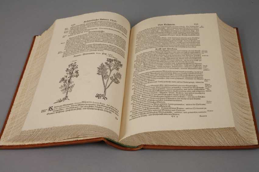 Facsimile Edition Lonicers Herbal Book 1679/1934 - photo 3
