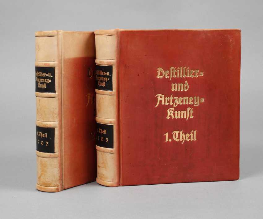 Khunraths Distillation Book 1703 - photo 1
