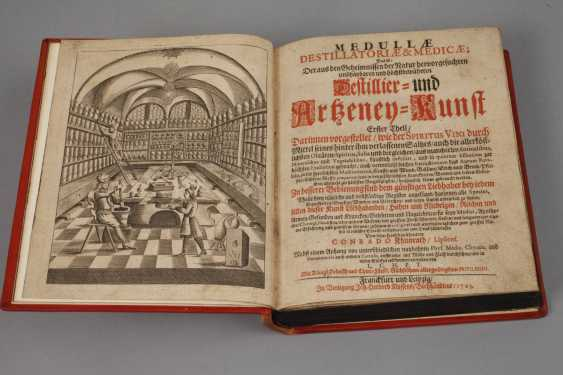 Khunraths Distillation Book 1703 - photo 2