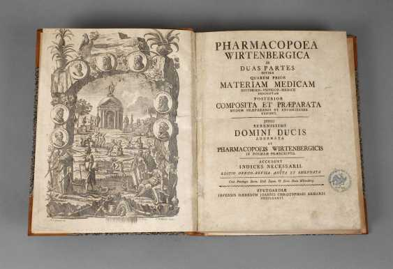 Württemberg Pharmacopöe 1786 - photo 1