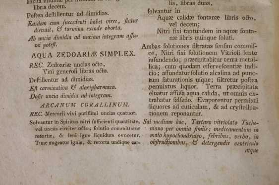 Württemberg Pharmacopöe 1786 - photo 3