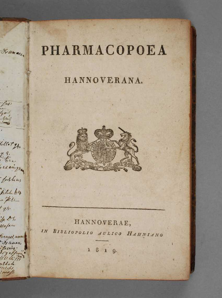 Hanover Pharmacopöe 1819 - photo 1