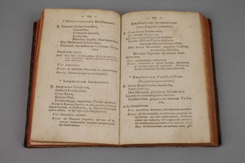 Hanover Pharmacopöe 1819 - photo 2