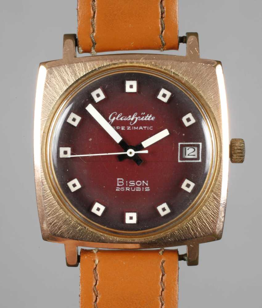 Men's Wristwatch Glashütte - photo 2