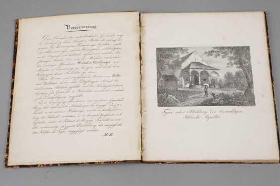 Panel Band Battle Chapel Of Sempach, 1843 - photo 2