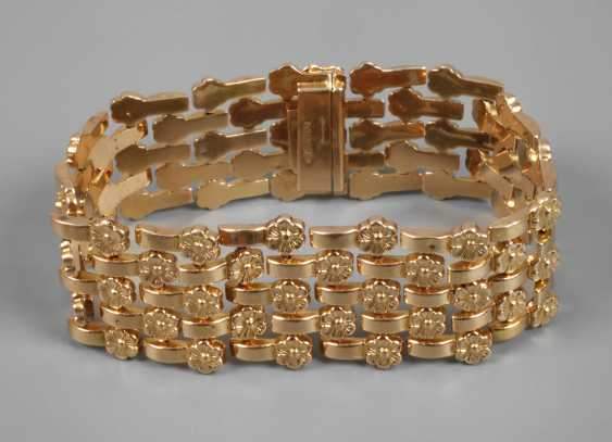 Wide Gold Bracelet - photo 1