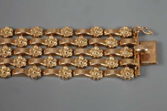 Wide Gold Bracelet - photo 3