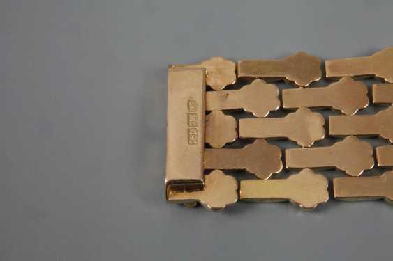 Wide Gold Bracelet - photo 4