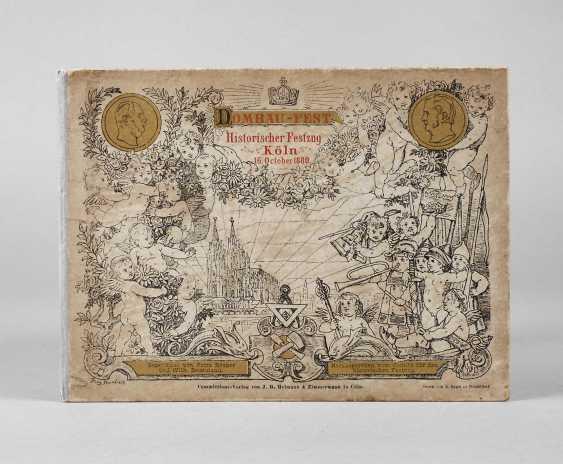 Leporello Dombau-Fest 1880 - photo 1