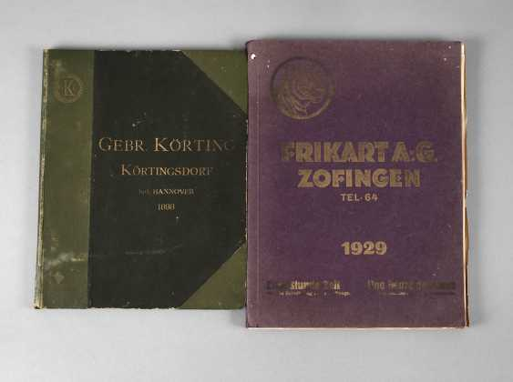Two Companies Catalogs Of Steel Trade - photo 1