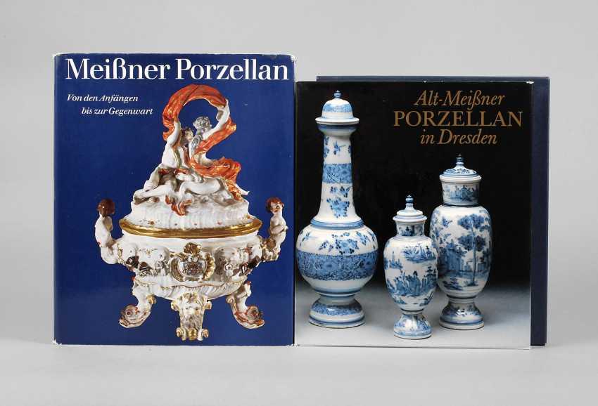 Two Books Meissen Porcelain - photo 1