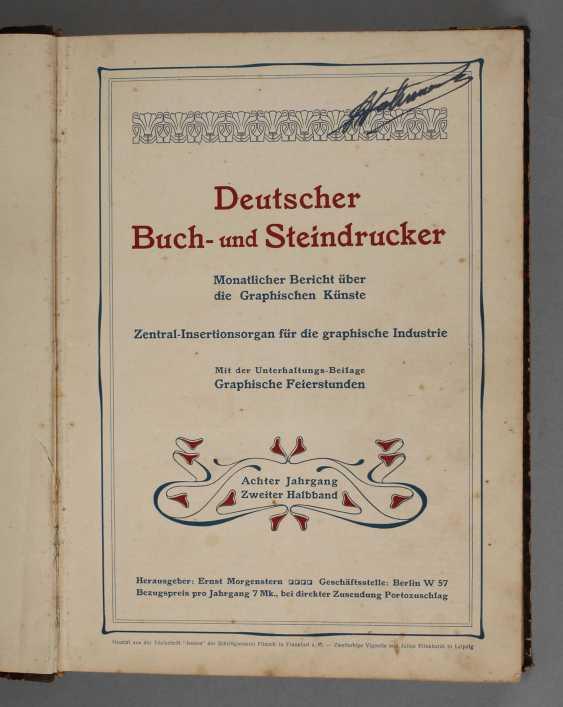 German book - and stone-printers, 1902 - photo 1
