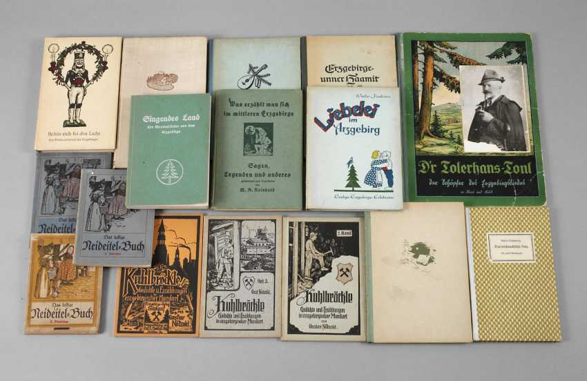 Collection Of Regional Literature In The Ore Mountains/Vogtland - photo 1