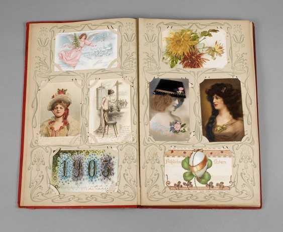 Art Nouveau Post Card Album - photo 1