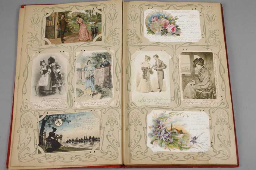 Art Nouveau Post Card Album - photo 2