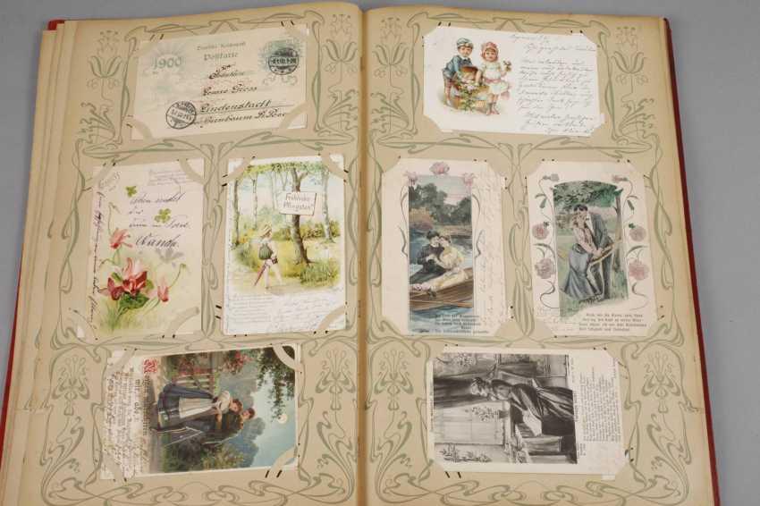 Art Nouveau Post Card Album - photo 3