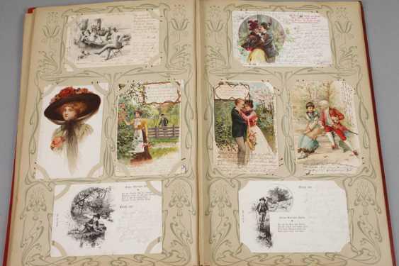 Art Nouveau Post Card Album - photo 4