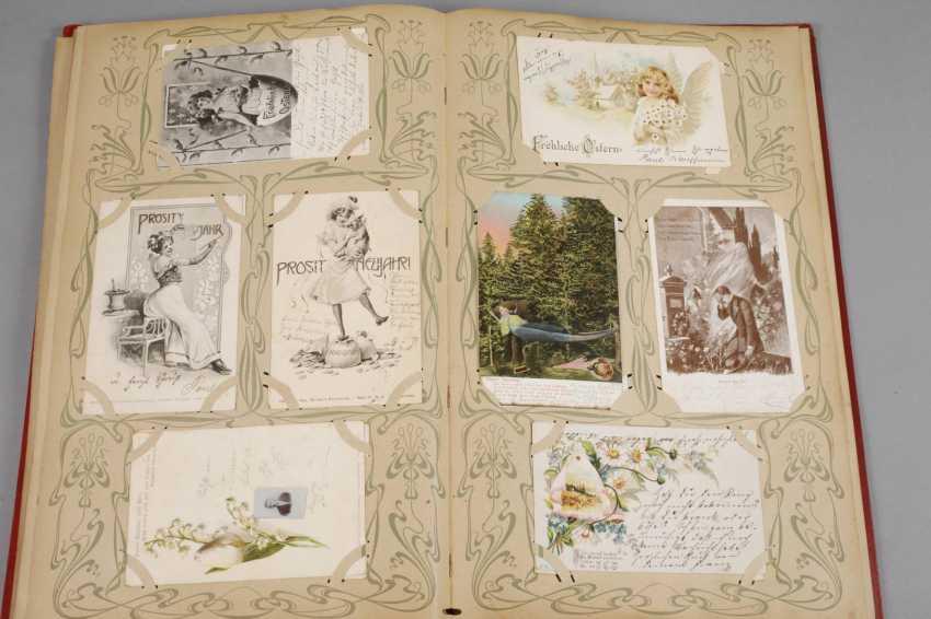Art Nouveau Post Card Album - photo 5