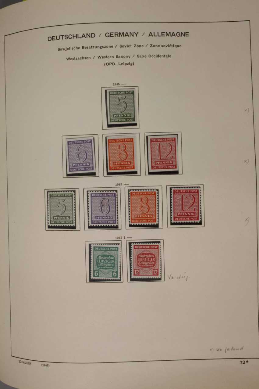 Stamps and postcards, allied occupation, Berlin - photo 2