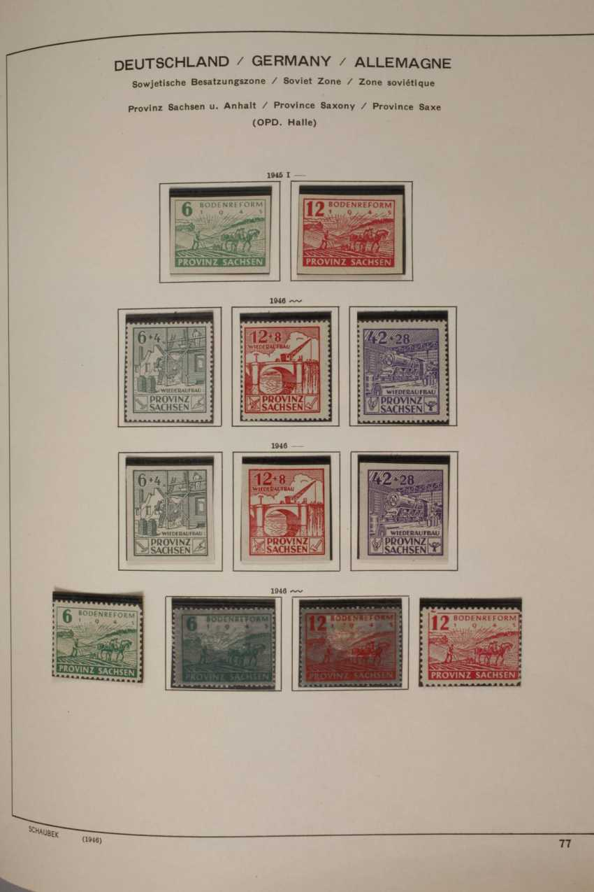 Stamps and postcards, allied occupation, Berlin - photo 3