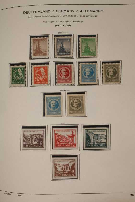 Stamps and postcards, allied occupation, Berlin - photo 4