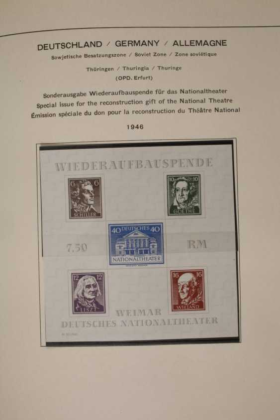 Stamps and postcards, allied occupation, Berlin - photo 5