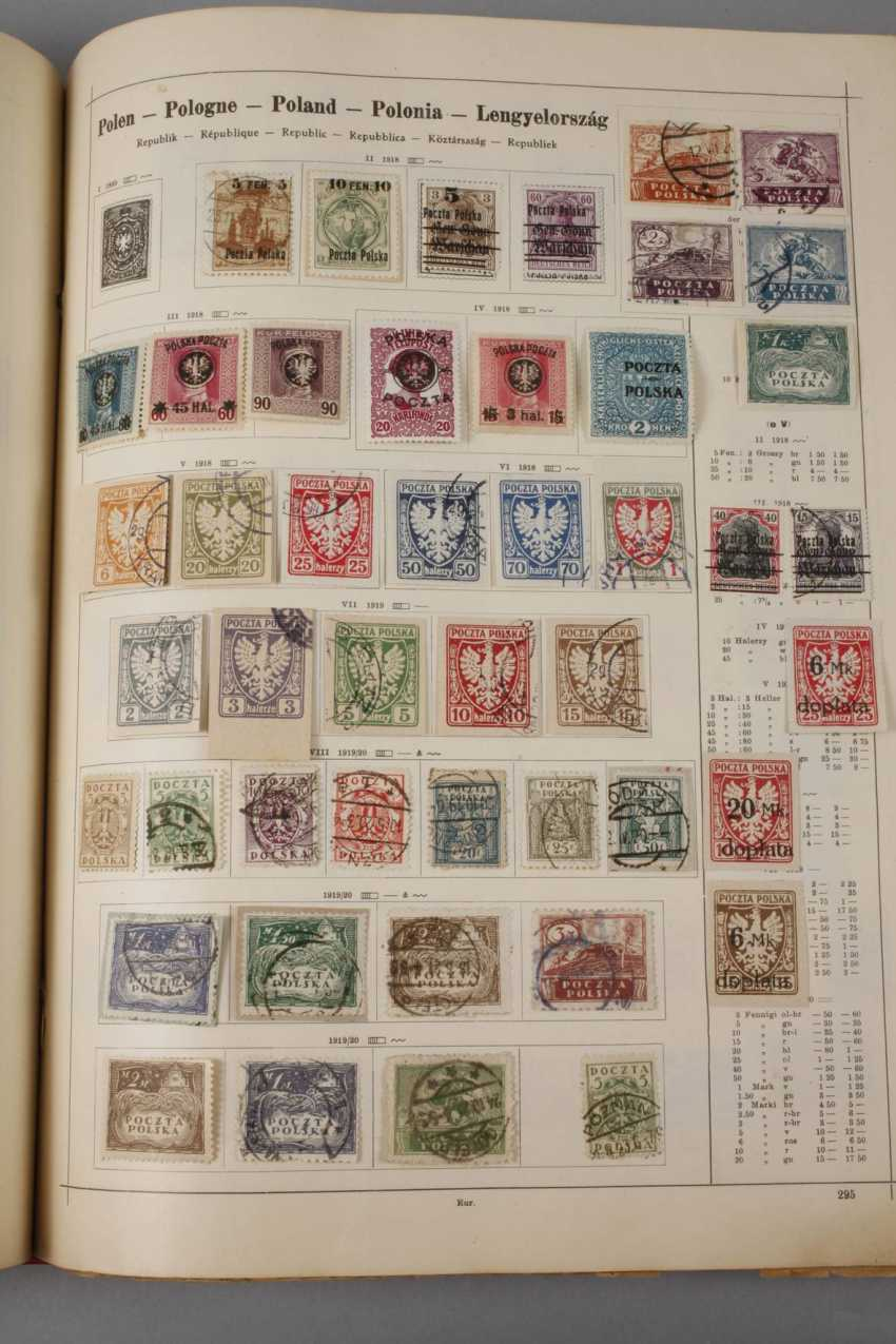 Stamp Collection Europe 1870-1930 - photo 8