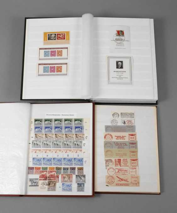 Three stamp albums DR and DDR - photo 1
