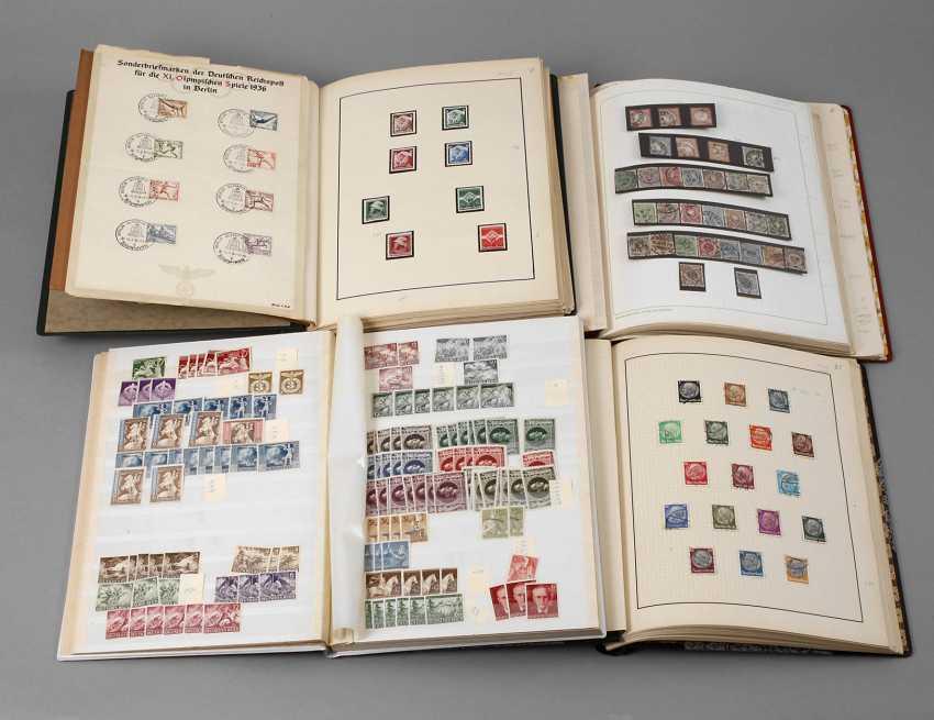 Four Stamp Albums - photo 1