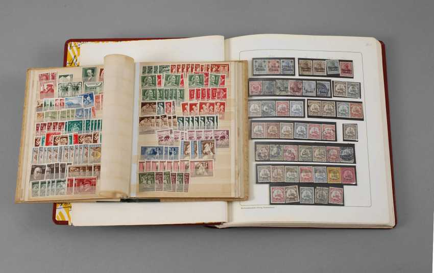 Two Stamp Albums - photo 1