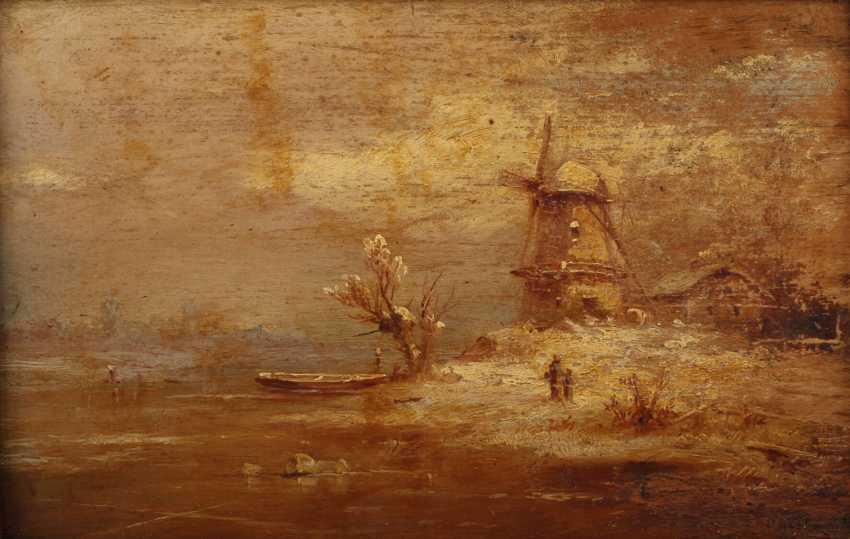 Romantic Windmill Motif - photo 1