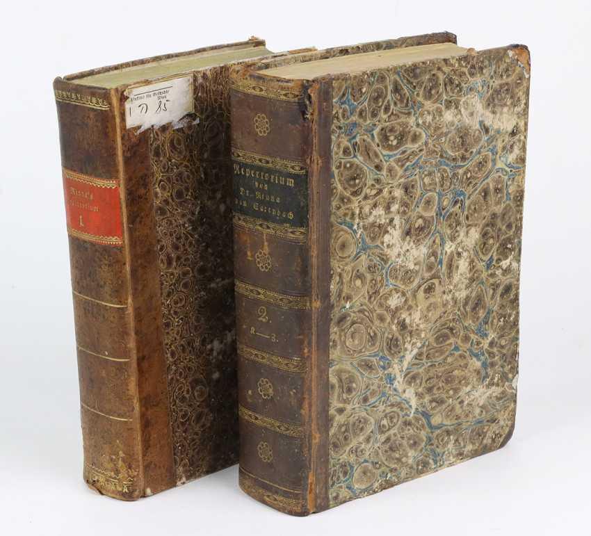 Sarenbach 2 Volumes Of The Repertory - photo 1