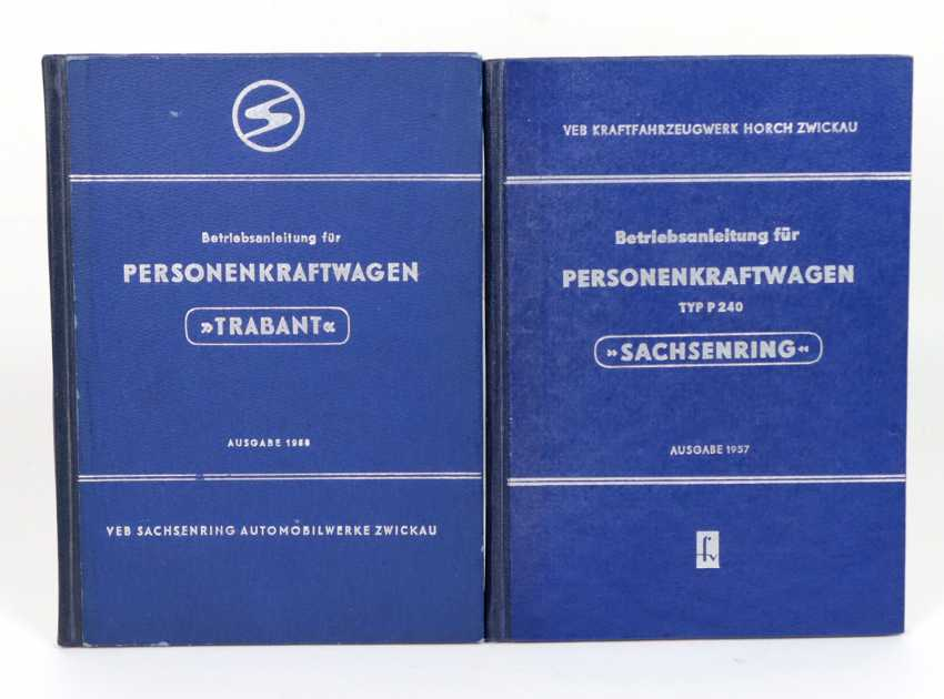 Operation manual for passenger cars, 2x - photo 1