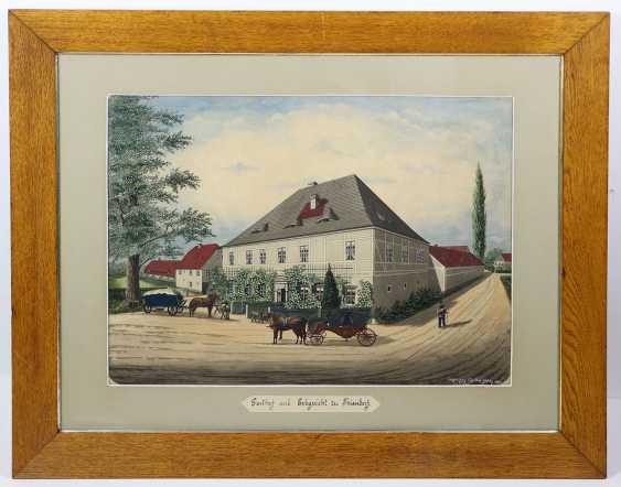 Inn and Erbgericht to Thiendorf - 1883 - photo 1
