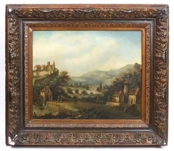 Castle view - unknown artist - photo 1