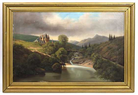 Oil Painting In Mid-19th Century. Century - photo 1