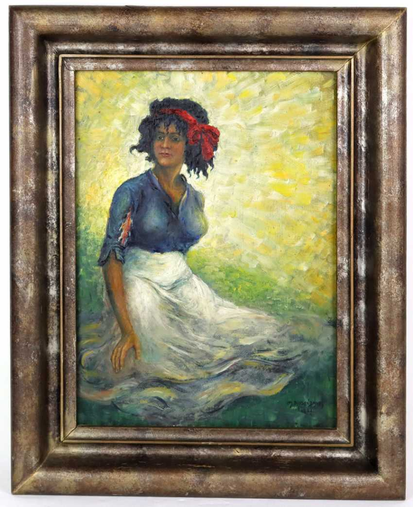 Women's Portrait - Rosenbaum, M. 1921 - photo 1