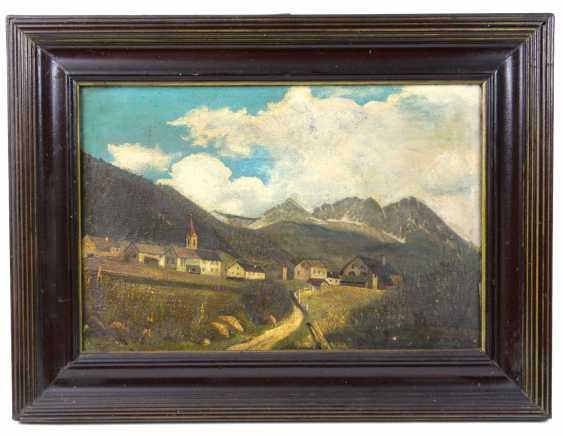Горная Деревня - Гетц, 1945 А. - фото 1