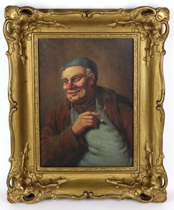 An innkeeper with a cigar - unknown artist - photo 1
