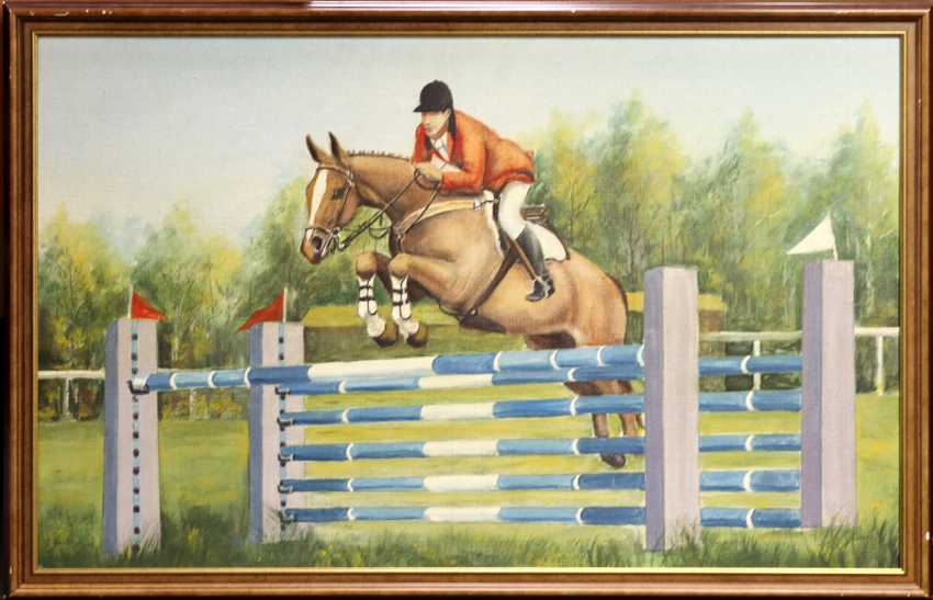 Spring rider - signed - photo 1