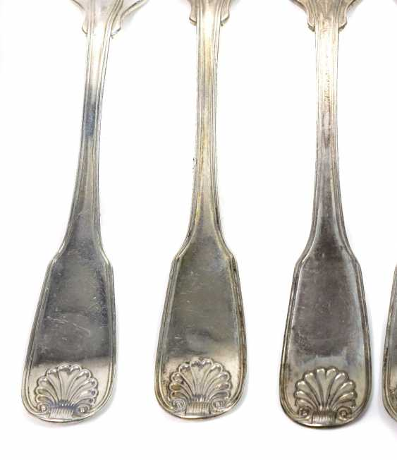 Dining forks and spoons around 1830/40 - photo 2