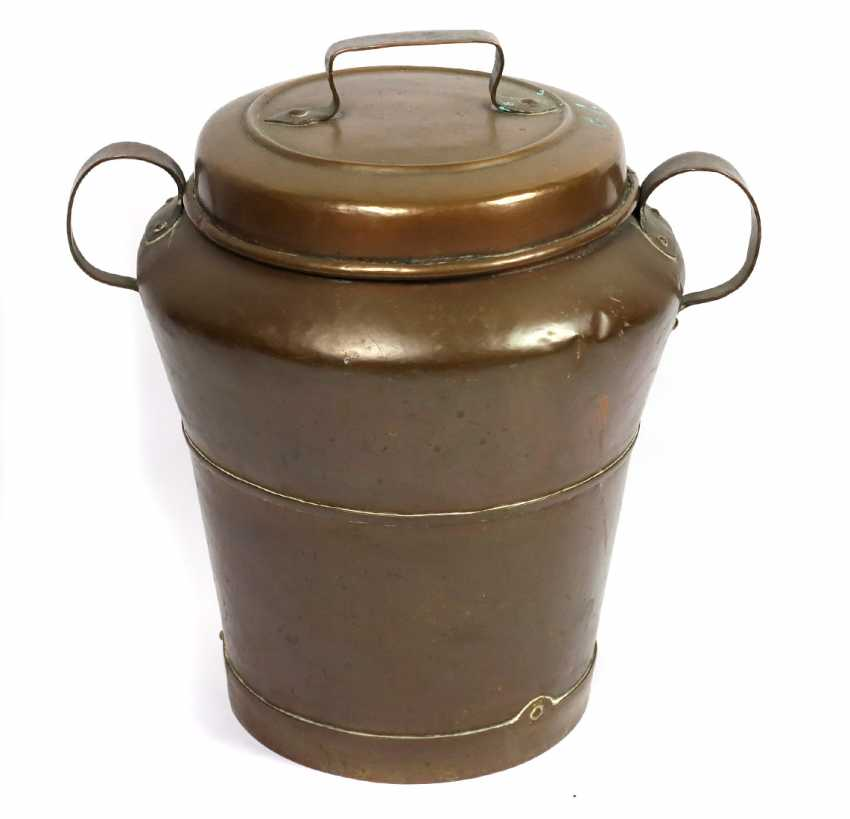 large stock container 19. Century - photo 1