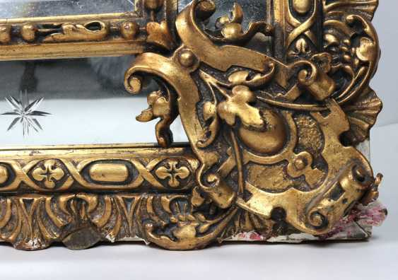 Historicism mirror 1880 - photo 3