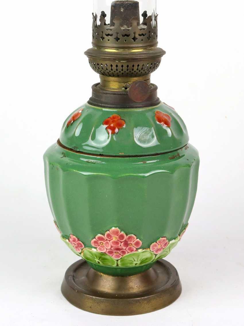 Art Nouveau kerosene lamp around 1905/10 - photo 2