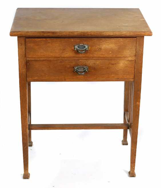 Art Nouveau sewing table circa 1910 - photo 1